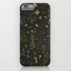 Old World Florals Slim Case iPhone 6