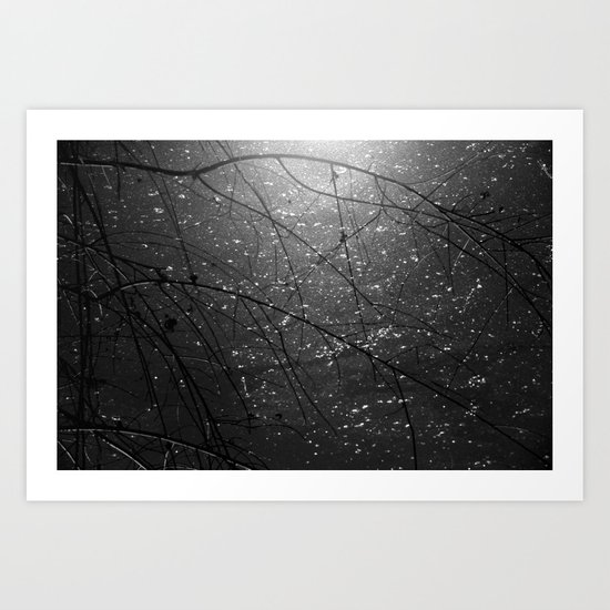 sparkles of light Art Print