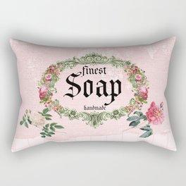 Pink Soap Rectangular Pillow