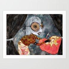 Poisoner Art Print