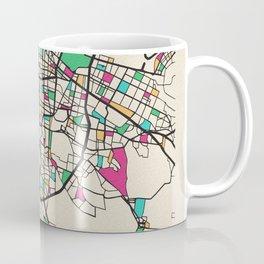 Colorful City Maps: Mexico City Coffee Mug