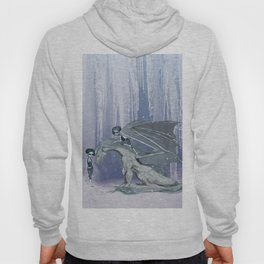 Awesome ice dragon with fairys Hoody