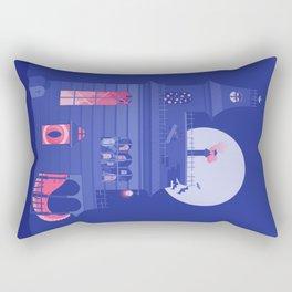 Cursed Residence Rectangular Pillow