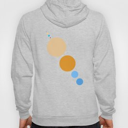 Planets To Scale (Diagonal) Hoody