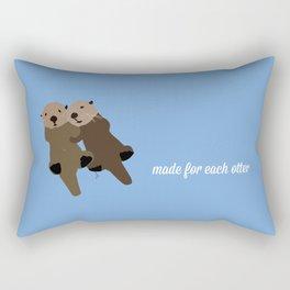 Made For Each Otter Rectangular Pillow