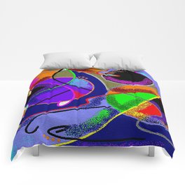 New Discoveries Comforters