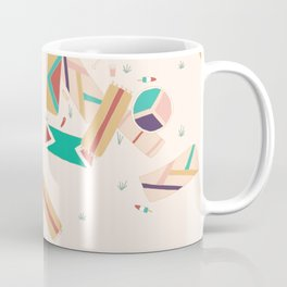 Scattered Beach Day With Friends Coffee Mug