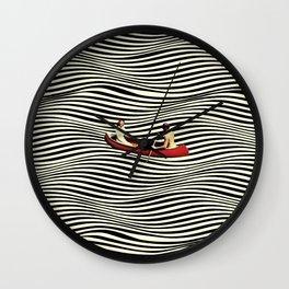 Illusionary Boat Ride Wall Clock