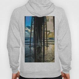 Sky Painting (Oceanside Pier) ~ 10-2015 Hoody