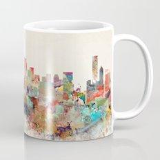 vancouver city skyline Mug