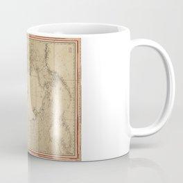 North Polar Sea Map (1855) Coffee Mug