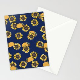 Taco Tuesday Sunflowers Stationery Cards