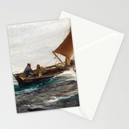 Charles Napier Hemy With Wind and Tide Stationery Cards