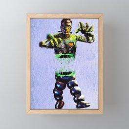 Split n two Frankie Framed Mini Art Print