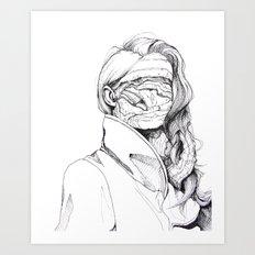 6 pieces_6 Art Print