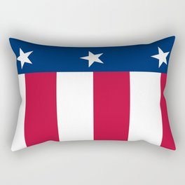 Texas state flag, High Quality Vertical Banner Rectangular Pillow