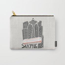 Seattle Cityscape Carry-All Pouch
