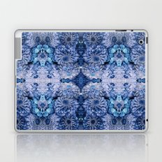 Frozen floral, nature, woodland, hippie, mandala, psychedelic Laptop & iPad Skin