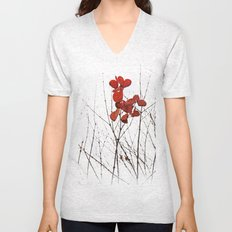 Love Leaves Unisex V-Neck