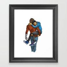 KOALA HUG Framed Art Print