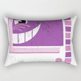 I'm Not Crazy Rectangular Pillow