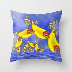 Fantasy Animals For Children Throw Pillow