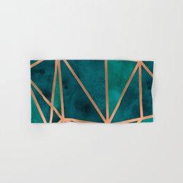 Copper & Emerald Geo Hand & Bath Towel