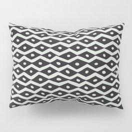 Black & White Tribal Pattern Pillow Sham