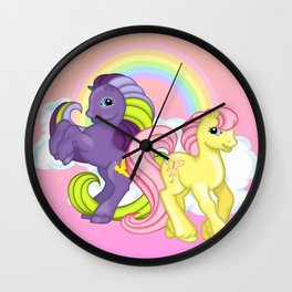 g2 my little pony Firefly and Sky Skimmer Wall Clock
