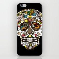 El dia de los muertos (Skull) iPhone & iPod Skin