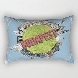 budapest little planet Rectangular Pillow