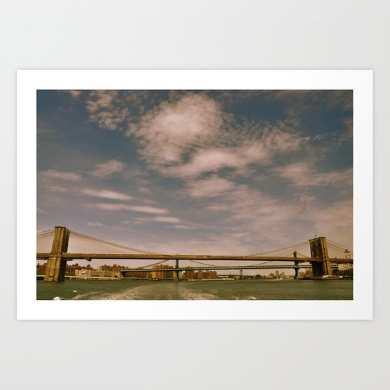 Three Bridges Art Print