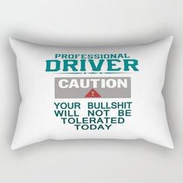 Truck Driver Safety Rectangular Pillow