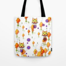 Owls are here Tote Bag