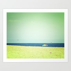 Fleeting days of summer Art Print
