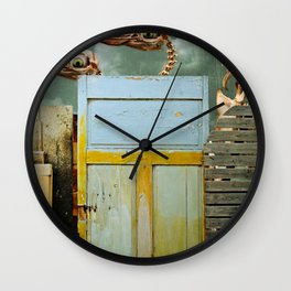 Penguin Walk Wall Clock