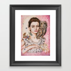 The most comfortable moment  By Davy Wong Framed Art Print