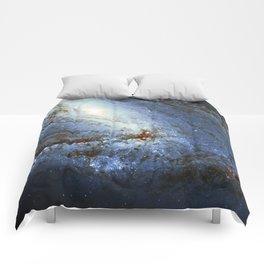 Spiral Galaxy M66 Messier 66 Comforters
