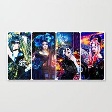 Demons of the Fallout Canvas Print