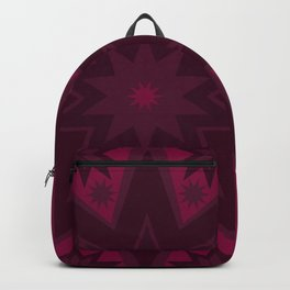 Mulled Berry Wine Star Flower Backpack