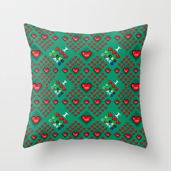 I 3 up video games Throw Pillow