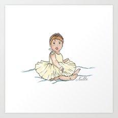 Baby Ballerina Art Print
