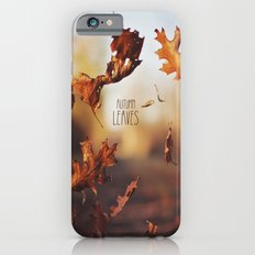 Autumn leaves as quickly as it arrives. iPhone 6s Slim Case