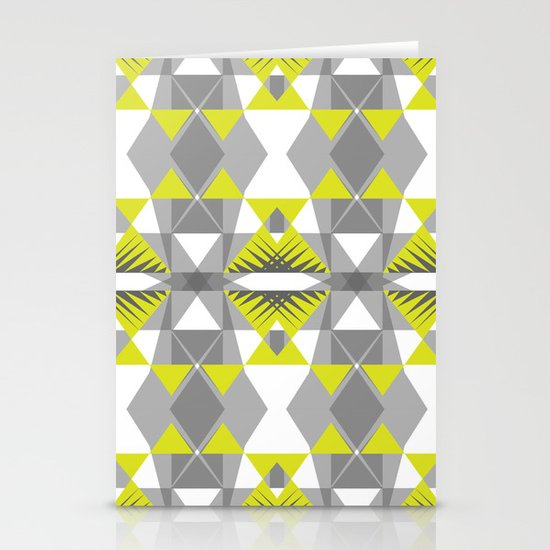 Neon threads Stationery Cards