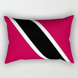 Trinidad and Tobago flag emblem Rectangular Pillow