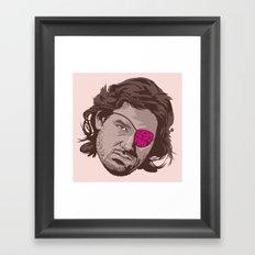 ESCAPE FROM NEW YORK Framed Art Print