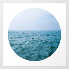 Nautical Porthole Study No.3 Art Print