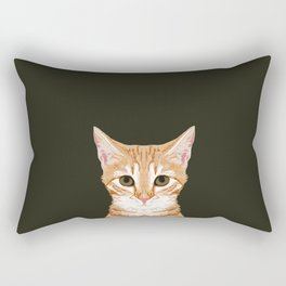 Chase - Cute Cat gifts for pet lovers cat lady gifts and perfect gifts for cat person and cute tabby Rectangular Pillow
