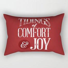 Tidings of Comfort & Joy Rectangular Pillow