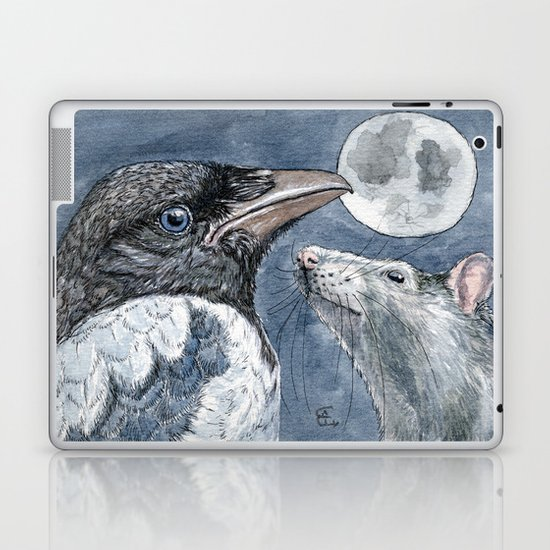 Moon C027 Laptop & iPad Skin